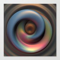 Pearlescent Pudding Canvas Print