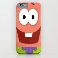 iPhone & iPod Case featuring MINIMAL PATRICK by Shawn P Cowan