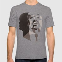 Hitchcock Mens Fitted Tee Tri-Grey SMALL