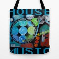 House Music  Tote Bag