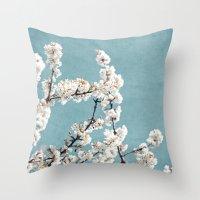 Spring 5 Throw Pillow