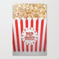 POP CORN Canvas Print