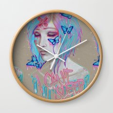 I Can't Sleep Wall Clock