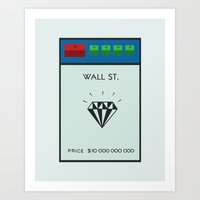Occupy Wall Street? Art Print