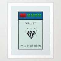 Occupy Wall Street? Art Print