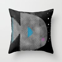 SPOTTED FISH Throw Pillow