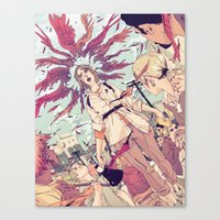 The Activist Canvas Print