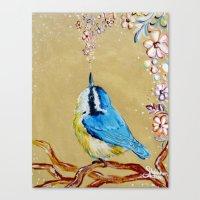 Spring Songbird  Canvas Print