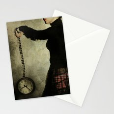 tick tock Stationery Cards