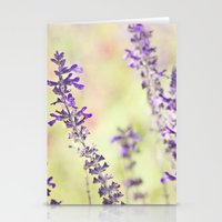 Sweet Purple Stationery Cards
