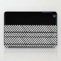 Herringbone Boarder iPad Case