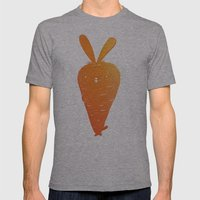 Cabbit Mens Fitted Tee Athletic Grey SMALL