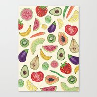 Froot and Veg Canvas Print