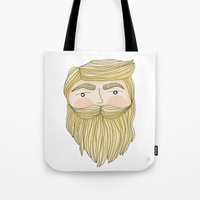 The Illusive Blonde Beard Tote Bag