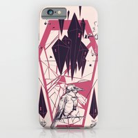 iPhone Cases featuring The Guardian by Santiago Sarquis