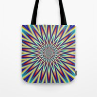 Red Blue And Yellow Supe… Tote Bag