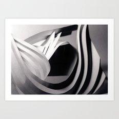 Paper Sculpture #4 Art Print