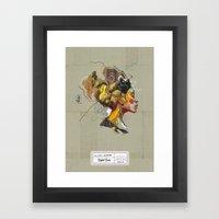 Erykah Badu - Soul Siste… Framed Art Print