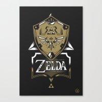Zelda v89 Canvas Print