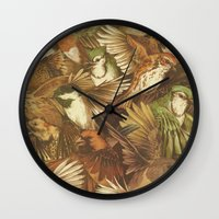 Red-Throated, Black-capp… Wall Clock