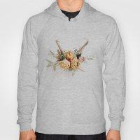 Floral Antlers IV Hoody