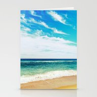 Stationery Cards featuring Ocean by WhimsyRomance&Fun
