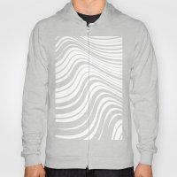Organic Stripes #08: Monochrome version Hoody