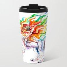 Okami Wolf Travel Mug