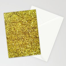 GOLD GLITTER Stationery Cards