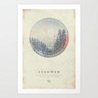 Art Prints featuring Fernweh Vol 2 by HappyMelvin