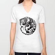 Tiger Day 2014 Unisex V-Neck