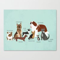 The Pack Canvas Print