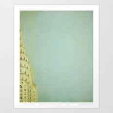 Top of the City - NYC Art Print