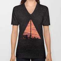 Burning Sunrise Unisex V-Neck
