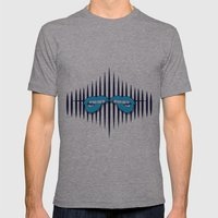 Tension Mens Fitted Tee Athletic Grey SMALL