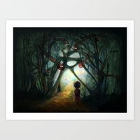 Through the Dream Art Print