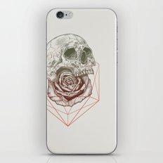 Skull Rose Geo iPhone & iPod Skin