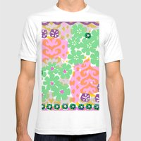 Les Fleurs Mens Fitted Tee White SMALL
