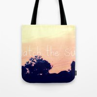 Let's Watch The Sunrise Tote Bag