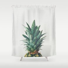 Pineapple Top Shower Curtain