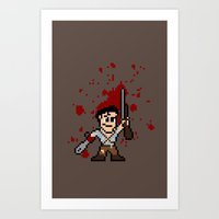 Pixel of Darkness Art Print