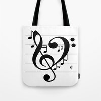 Love Music II Tote Bag