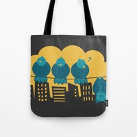 Three plus one Tote Bag
