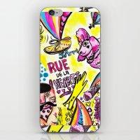 Rue De La Hearts   iPhone & iPod Skin