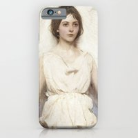 iPhone & iPod Case featuring Abbott Handerson Thayer - Angel by TilenHrovatic