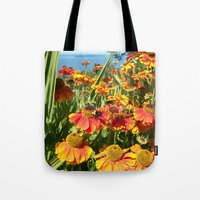Sweet as a Bee and Daisies Tote Bag