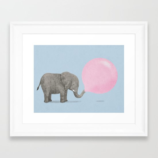 Jumbo Bubble II Framed Art Print