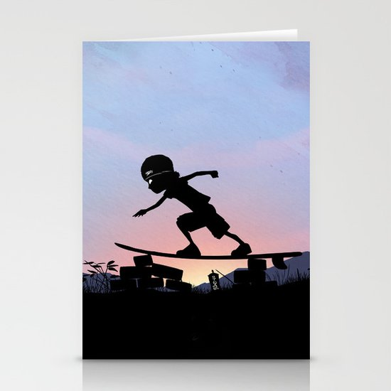Silver Surfer Kid Stationery Card