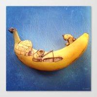 Fruitdoodle Eskimo Canvas Print