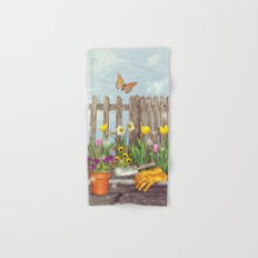 Spring Gardening Hand & Bath Towel